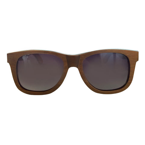 Brown Wood Sunglasses - Organic Optics Co.