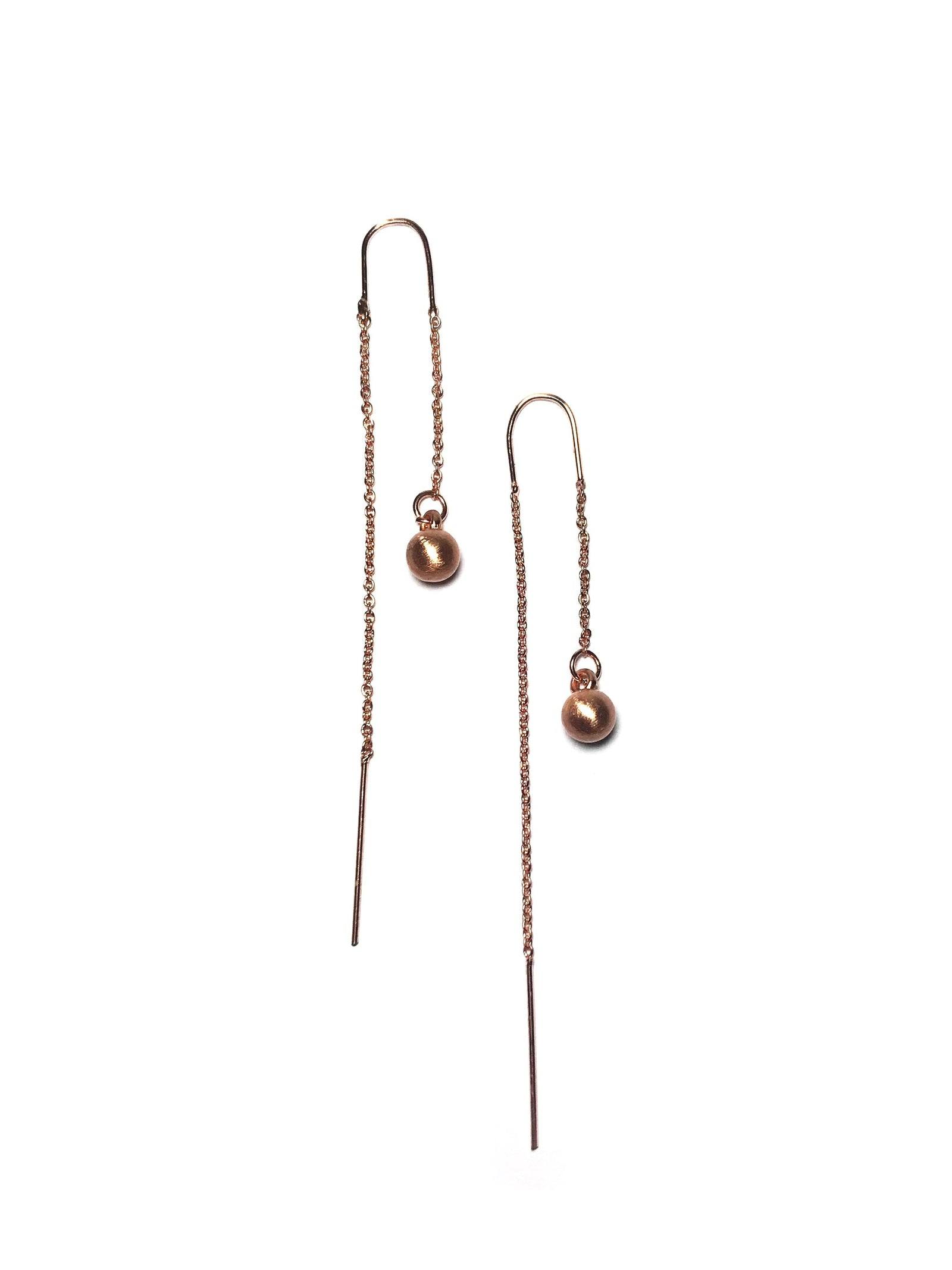 Front and Back Drop Earrings - Mott and Prince
