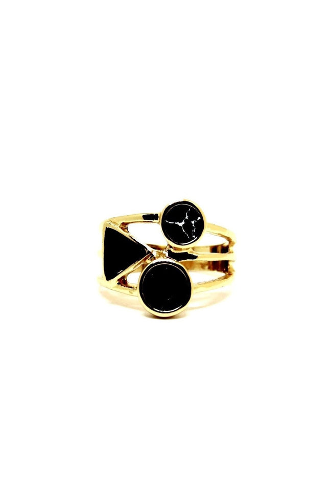 Black on Black Ring