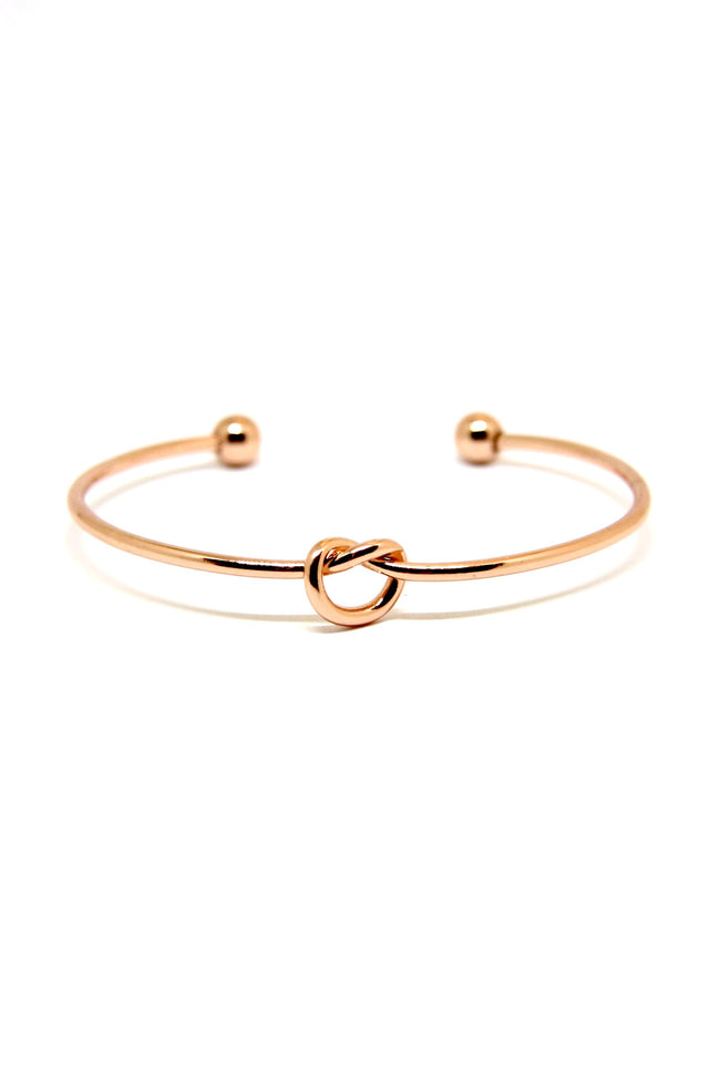 Rose Gold Knot