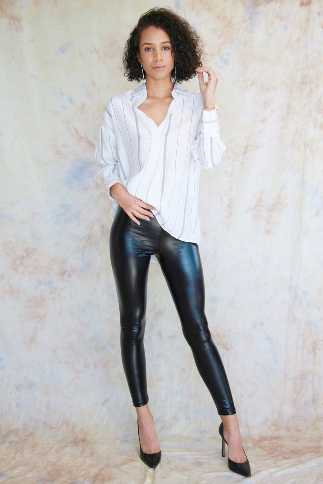 Shiny Patent Leggings