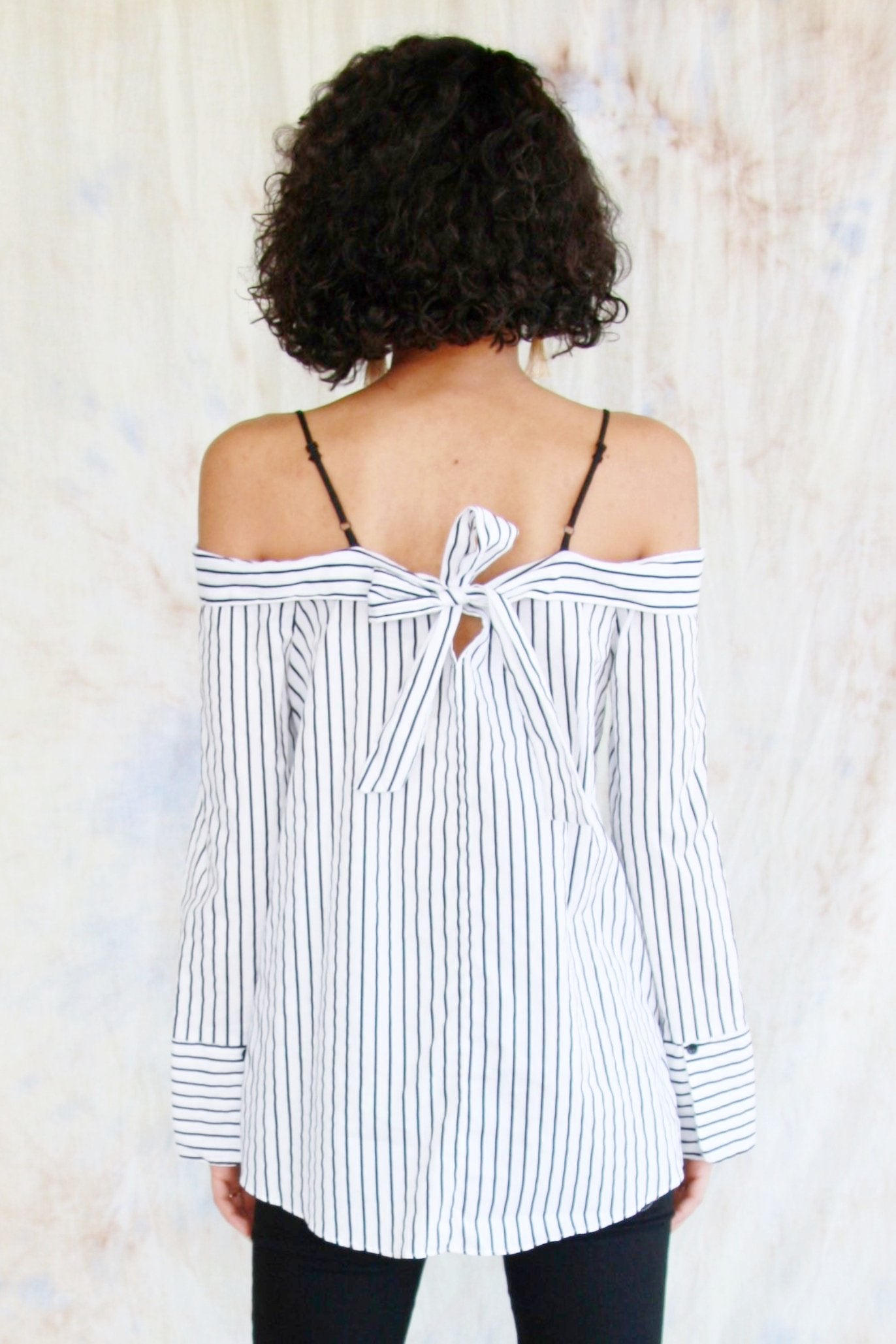 Off-The-Shoulder Blouse