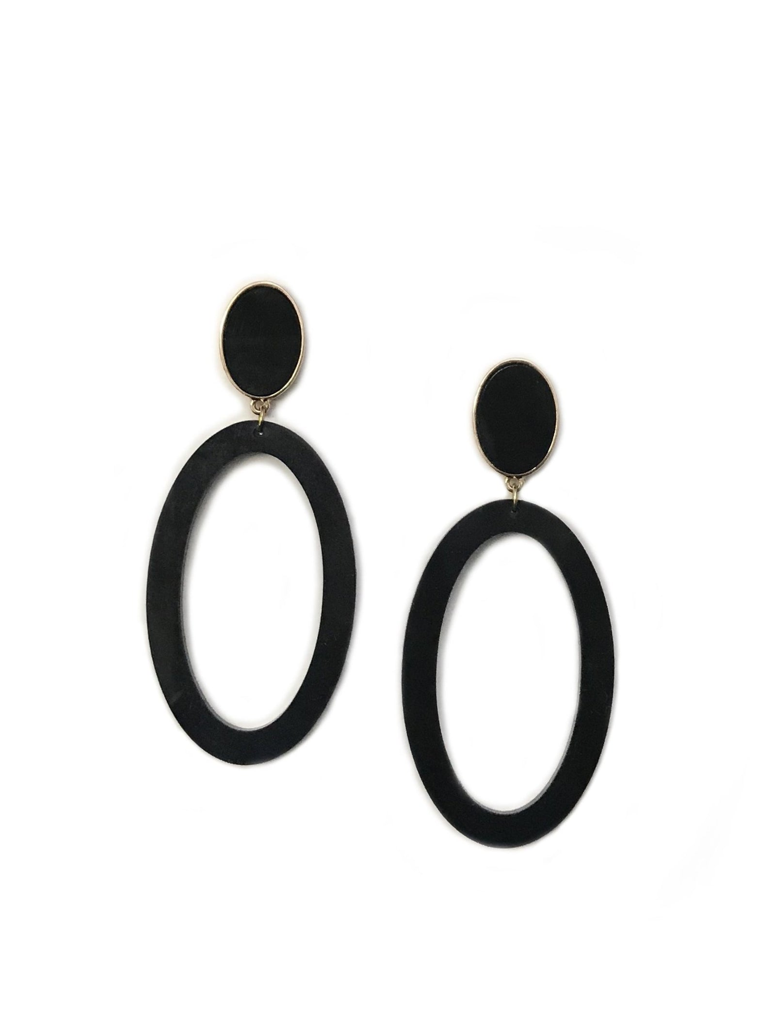 Molly Earring Black