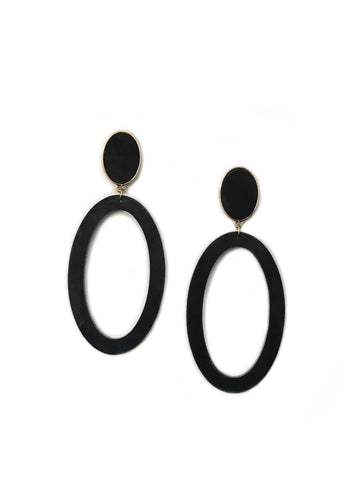 Molly Earring Brushed White