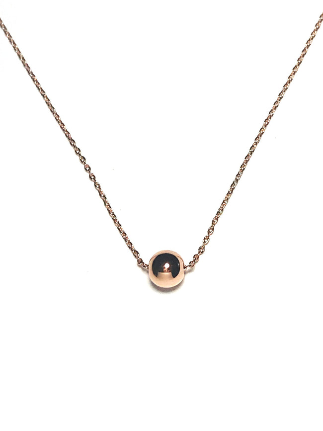 Mini Ball Necklace - Mott and Prince
