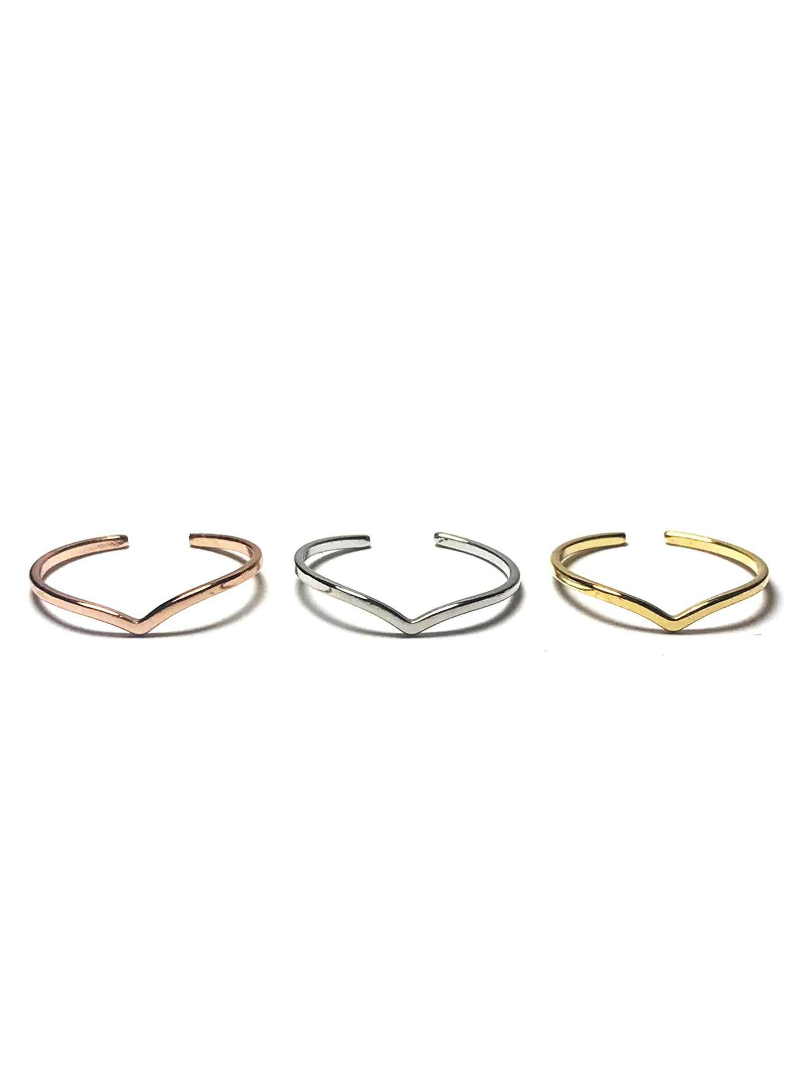 Three Dip Rings