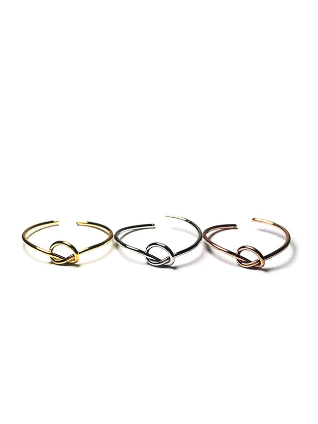 Three Knots Rings