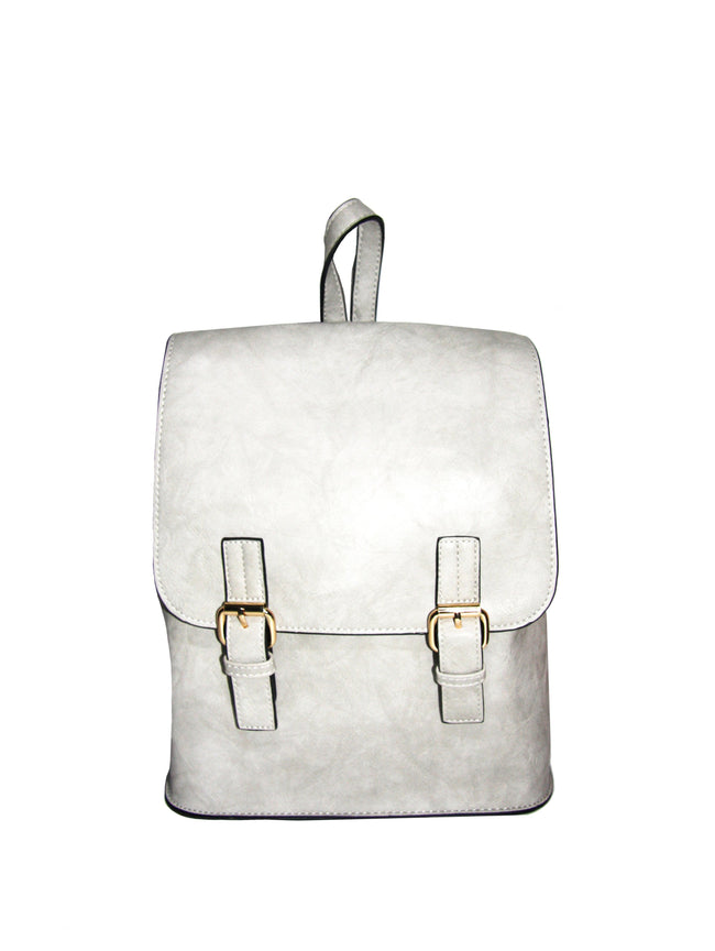 Structured Grey Backpack