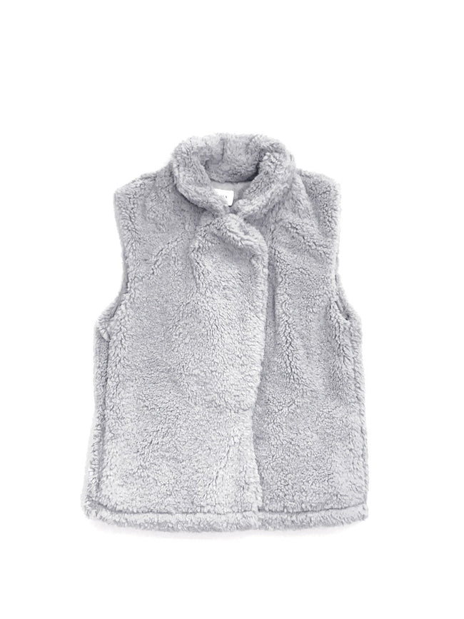 Grey Fleece Vest - Mott and Prince