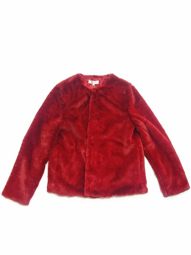 Heidi Faux Fur Jacket - Mott and Prince