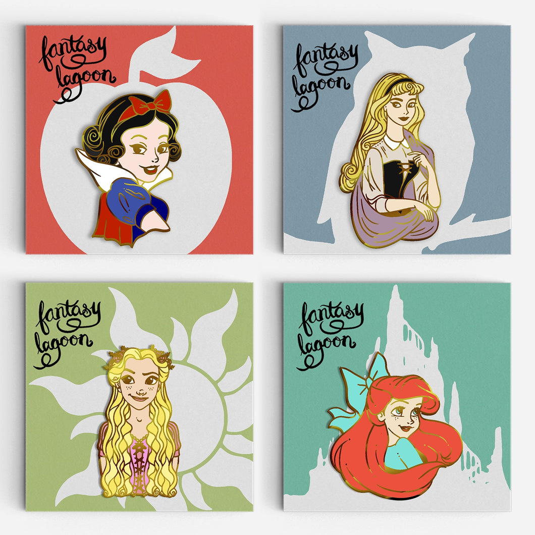 Princess Enamel Pin Series 1