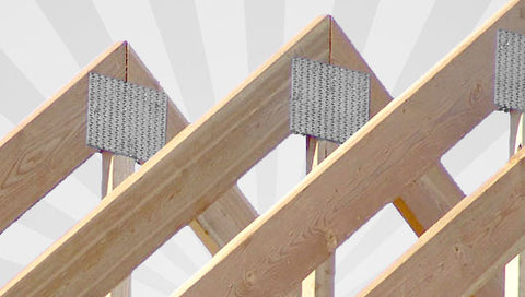 Bare Wood Truss Anchors