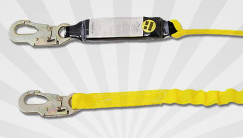 Single Leg Shock Lanyards