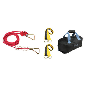 FallTech 4-person Temporary Horizontal Lifeline Kit