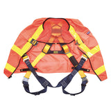 DBI-SALA Reflective Orange Delta Vest Harness - Open