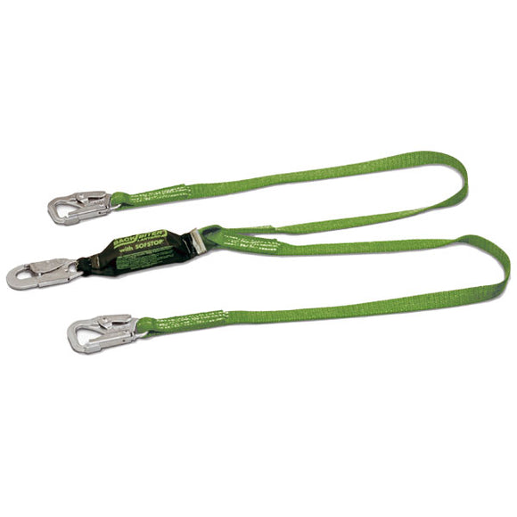 Miller BackBiter Tie Back Lanyard-Double Leg