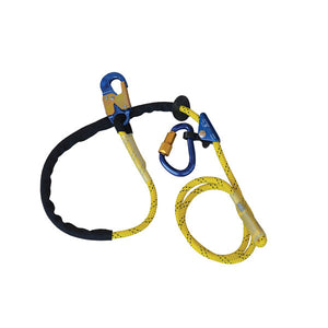 1234071 - DBI-SALA Adjustable Rope Positioning Strap w/ Aluminum Snap Hook - 8 ft.