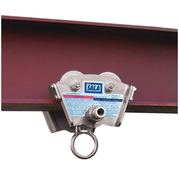 DBI-SALA I Beam Trolley - Stainless Steel