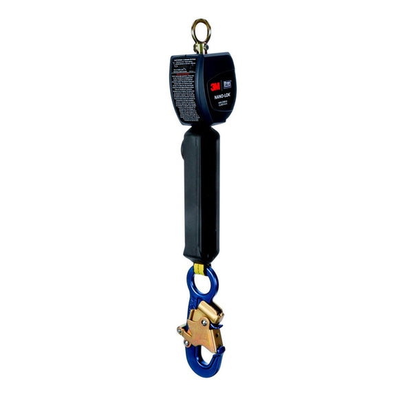 DBI-SALA Nano-Lok Self Retracting Lifeline w/ Aluminum Snap Hook