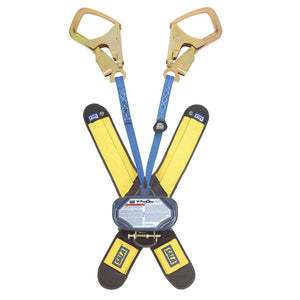 DBI-SALA Talon Twin Leg Retractable w/ Steel Rebar Hooks - 6 ft.