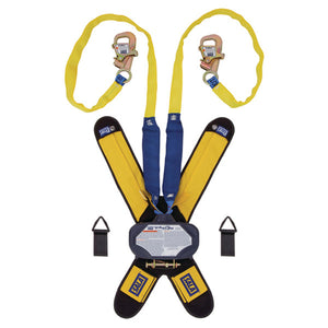 DBI-SALA Harness Mount Twin Leg Tie-Back Talon Retractable Lifeline - 7.5 ft.