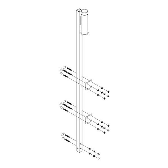 DBI-SALA Lad-Saf™ Top Bracket for Fixed Ladder