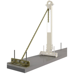 7400214 - DBI-SALA SecuraSpan Tie Back Base and Chain Assembly