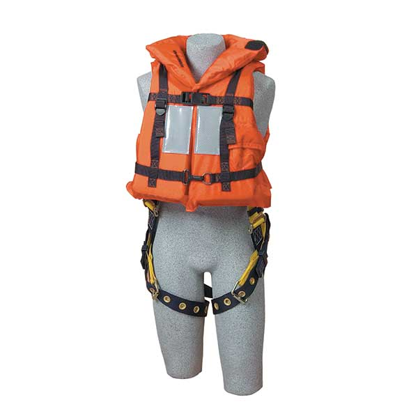 DBI-SALA Off-Shore Lifejacket with Harness D-ring Opening - 9500468Fall Protection Pros.com