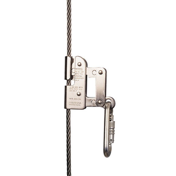 DBI-SALA Protecta Cabloc Ladder Safety Sleeve Wire Rope Grab - 5/16