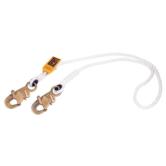 DBI-SALA Nylon Rope Non-Shock Lanyard - 6 ft.