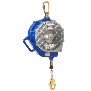 DBI-SALA Sealed-Blok Self Retracting Lifeline-Galvanized Steel-130'