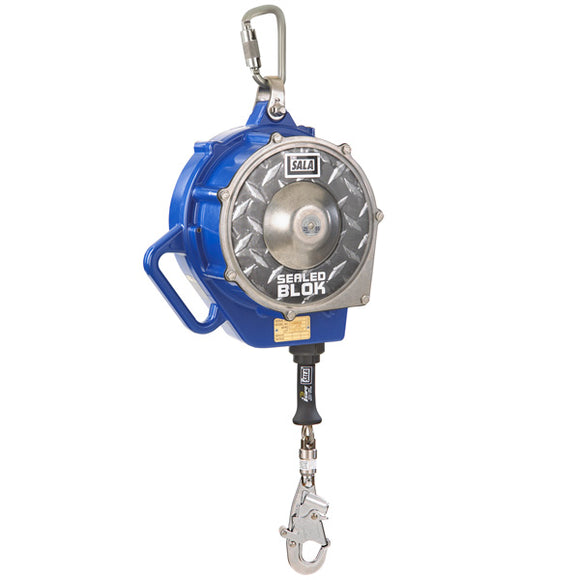 DBI-SALA Sealed-Blok Self Retracting Lifeline-Stainless Steel-85'