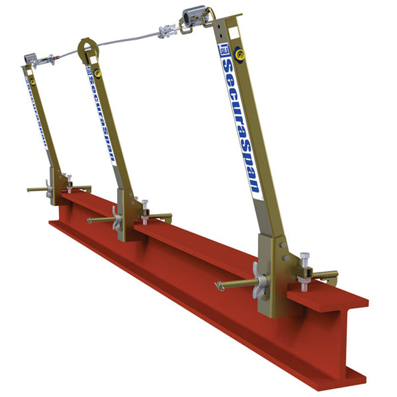 DBI-SALA SecuraSpan I-Beam Horizontal Lifeline System - 60 ft.