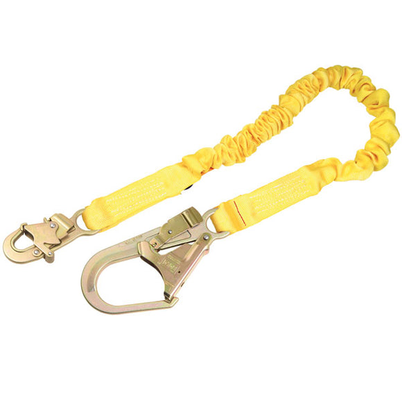 DBI-SALA ShockWave 2 Shock Lanyard w/ Rebar Hook - 6 ft.