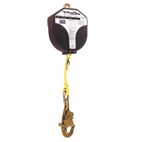 DBI-SALA Talon Web Self Retracting Lifeline w/ Swiveling Loop Connector -  16 ft.