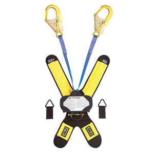 DBI-SALA Talon Twin Leg Retractable w/ Aluminum Rebar Hooks - 6 ft.