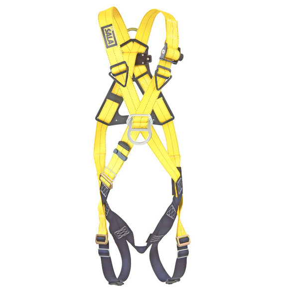 DBI-SALA Delta Cross-Over Harness w/ Pass Thru Buckles