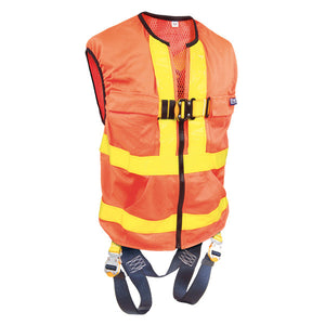 DBI-SALA Reflective Orange Delta Vest Harness
