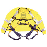 DBI-SALA Reflective Yellow Delta Vest Harness - Open