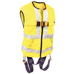 DBI-SALA Reflective Yellow Delta Vest Harness