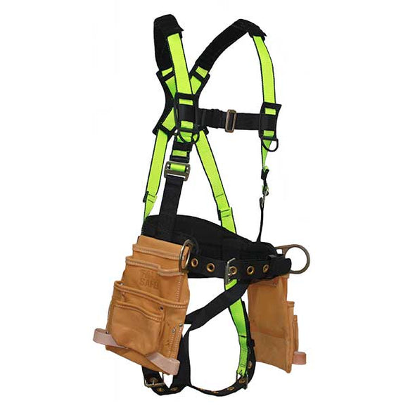 FallSafe Extreme Constuction Harness w/ Tool Pouch