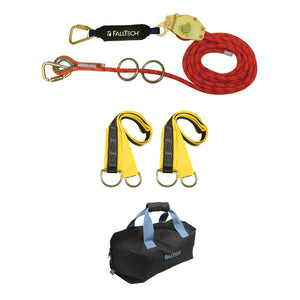 FallTech 2 Person Horizontal Rope Lifeline System