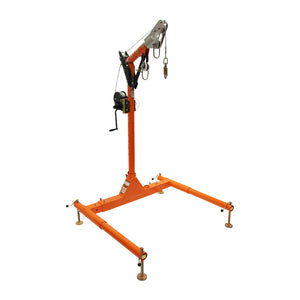 FallTech Confined Space Davit System w/ Personnel Winch