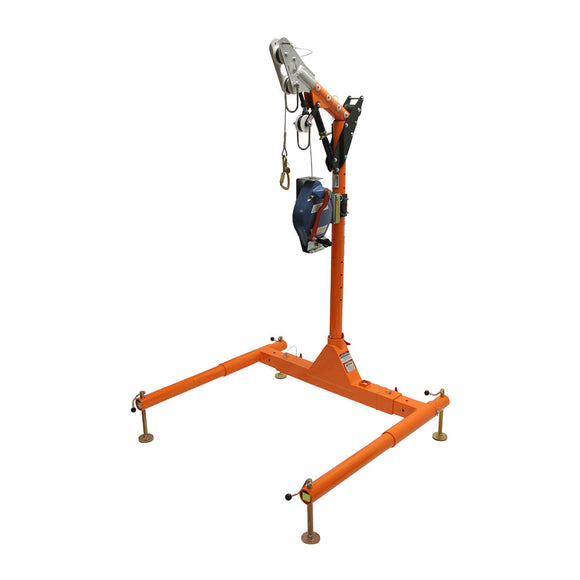 FallTech Confined Space Davit System w/ 3-Way SRL-R