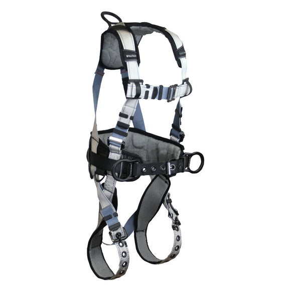 FallTech FlowTech® LTE Construction Harness w/ Tongue Buckles