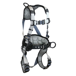 FallTech FlowTech® LTE Construction Harness w/ Quick Connect Buckles