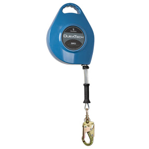 FallTech DuraTech Steel Cable Retractable Lifeline - 60 ft.