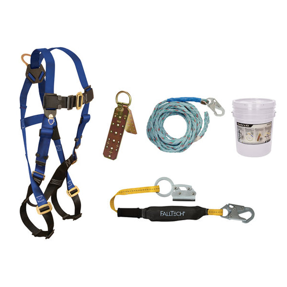 FallTech FTBasic Roofer's Kit - 50 ft