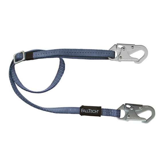 FallTech Adjustable Non-Shock Lanyard - 5 to 8 ft.