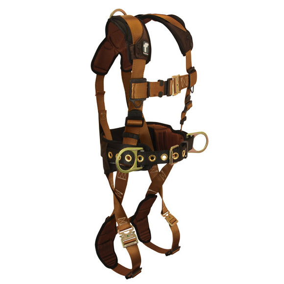 FallTech ComforTech Construction Harness w/ Quick Connect Buckles